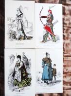Histoire Du Costume   - Publicité Des Laboratoires Unilabo - Réservé Au Corps Médical - Geschiedenis