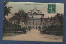 77 SEINE & MARNE - CP COLORISEE CHAUMES ( EN BRIE ) - CHATEAU DE MAUREVERT - EDITION GIRON - CIRCULEE EN 1910 - Frankrijk
