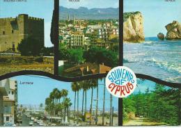 "CHYPRE - Souvenir Of CYPRUS Multi Vues  (timbre Stamp ""CYPRUS KIBRIS"") *PRIX FIXE - Chypre"