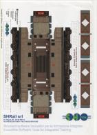 Alt288 Taglia E Piega - Restauro Virtuale Locomotiva Treno E626-225, Expo Ferroviaria, Train, Railways - Altri