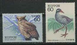 112 JAPON 1983 - Oiseaux (I) Neuf Sans Charniere (Yvert 1461/62) - Unused Stamps