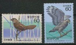 112 JAPON 1984 - Oiseaux (III) Neuf Sans Charniere (Yvert 1476/77) - Unused Stamps