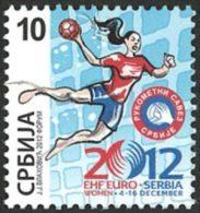 SERBIE EX-YOUGO Handball Féminin-Euro 12 1v - Handbal