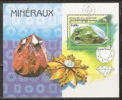 MINERALES - CAMBOYA 1998 - Yvert H147 - MNH ** - Minerales
