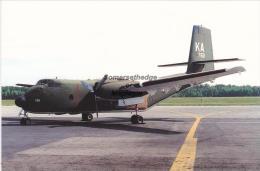 United States Air Force De Havilland C 7A Caribou Aircraft Postcard (AM1955) - 1946-....: Modern Era