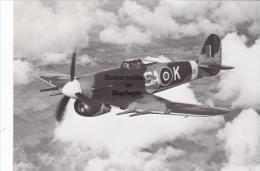 Hawker Typhoon 1B Aircraft Postcard (AM1962) - 1939-1945: 2nd War