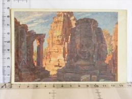 CPA - Cambodge  - Illustrateur Salgé - Angkor Thom - Kambodscha