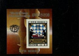 219 451 635 schaken  posttfris  noord korea mint never hinged postfrisch ohne falz michel blok 89