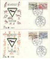 FDC  591 -94  Europäisches Naturschutzjahr - [7] Federal Republic