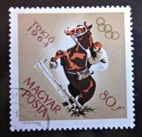Briefmarke Ungarn Magyar Posta Pferde Sport 1964 Tokio - Summer 1964: Tokyo