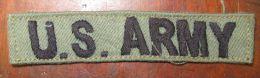 "Patch ""US Army"" Epoque Vietnam - Equipment"