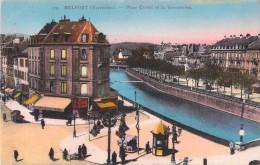 90 TERRITOIRE DE BELFORT PLACE CORBIS ET LA SAVOUREUSE - Belfort - Ville