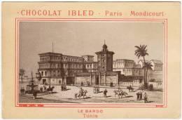 CHROMO Chocolat Ibled Repesse Crépel Le Bardo Tunis Tunisie - Non Classificati