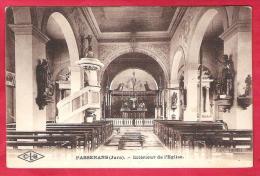 39-Passenans -intérieur De L'église Très Belle Cpa 1923 - Autres Communes