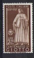 Italia Italy Italien Italie 1937 Uomini Illustri L.2,75  MLH - Nuovi