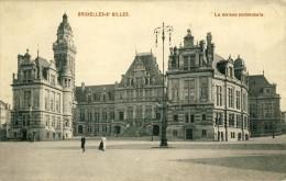 CP, Bruxelles-St Gilles - La Maison Communale, Vierge - Belgique