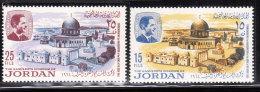Jordan 1965 Dome Of The Rock MNH - Jordanie