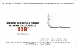 *ITALIA - TIM* - Supporto GSM - Italia