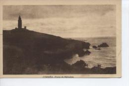 (CPA21) LA CORUÑA . TORRE DE HERCULES - La Coruña