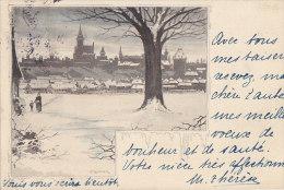 Illustrateur T. Binder - Paysage - Germany - Neige - Autres Illustrateurs