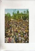 BT14764 Village Market Scene    2 Scans - Indonesien