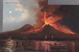 Evènements - Catastrophe - Volcan - Vesuvio In Eruzione - Pêche - Catástrofes