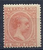 130504055  PTO RICO  ESP.  EDIFIL  Nº  104  *  MH - Puerto Rico