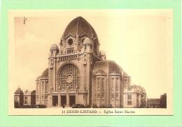 D62 - HENIN LIETARD - EGLISE SAINT MARTIN - état Voir Descriptif - Frankrijk