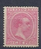 130504079  PTO RICO  ESP.  EDIFIL  Nº  113  *  MH - Puerto Rico