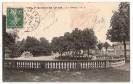 CPA Saint Germain Les Corbeil St La Terrasse  91 Essonne - France