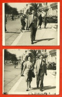 PHOTO Photographie (LOT De 2) Monsieur Avec Ou Sans Madame...Cinesport Kodak, Promenade Des Anglais 06 NICE - Lieux