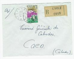 FRANCE LETTRE RECOMMANDEE DE L AIGLE ORNE - Marcophilie (Lettres)