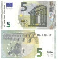 NEW 5 € 2013 BELGIO SERIE ZB Mario Draghi FDS UNC DA MAZZETTA Z003G3 - EURO