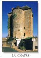 LA CHATRE (Indre) - Ancien Donjon Du XVe Siècle Actuellement Musée George SAND Et De La Vallée Noire - 2 Scans - La Chatre
