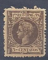 130504106  PTO RICO  ESP.  EDIFIL  Nº  137  *  MH - Puerto Rico