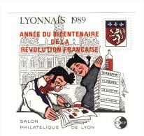 Bloc CNEP N° 11 : Lyonnais 1989 Surchargé . Cote Maury : 42 € . Rare , Voir Le Scan . - CNEP