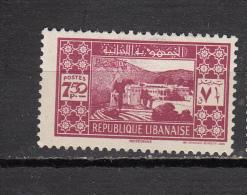 GRAND LIBAN *  YT N° 166 - Non Classés