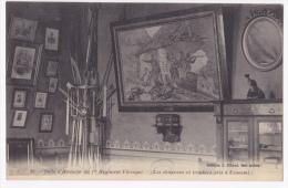 Sidi Bel Abbès - Salle D'Honneur Du 1er Etranger - Les Drapeaux Et Trophées Pris à L'ennemi - Circulé Sans Date, Sous En - Sidi-bel-Abbes