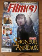 LOTR - MAGAZINE CINE FILM(S) - N° 5 - JUIN/JUILLET 2003 - LOTR - LE SEIGNEUR DES ANNEAUX - LE RETOUR DU ROI + 4 AFFICHES - Magazines