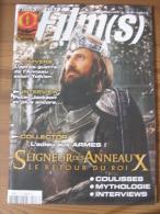 LOTR - MAGAZINE CINE FILM(S) - HORS-SERIE N° 8 - JUILLET/AOUT 2004 - LE SEIGNEUR DES ANNEAUX - LE RETOUR DU ROI + 4 AFFI - Magazines