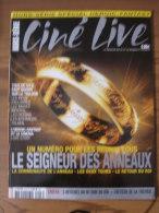 LOTR - MAGAZINE CINE LIVE HORS SERIE 2004 N° 13 SPECIAL HEROIC-FANTASY - LE SEIGNEUR DES ANNEAUX + 4 AFFICHES - Magazines