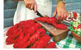La Preparation Du Homard Pour Le Banquet  Where Lobster Is King - Recipes (cooking)