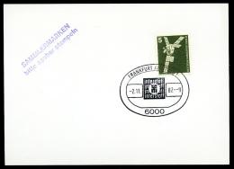 91380) BRD - Beleg - SoST 6000 FRANKFURT AM MAIN 1 Vom 2.11.1982 - Interstoff - [7] République Fédérale
