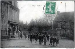50 - RARE: PERCY - LA POSTE ( CARTE SANS DOUTE  RECOLLEE, Ondulations ) - France