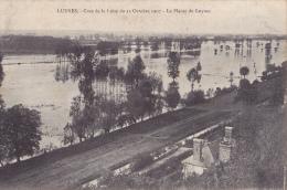 LUYNES CRUE DE LA LOIRE DU 22 OCTOBRE 1907 LA PLAINE DE LUYNES - Luynes