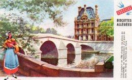 - BUVARD Biscottes GREGOIRE - Le Pont Royal  - 205 - Biscottes