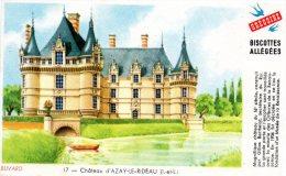 - BUVARD Biscottes GREGOIRE - Château D'Azay-le-Rideau - 207 - Biscottes