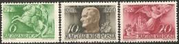 Ungheria 1940 MNH - Yv. 547/49 - Ungheria