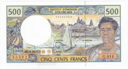 Polynésie Française / Tahiti - 500 FCFP - G.014 / 2010 / Signatures Viennay-Landau-Besse - Neuf  / Jamais Circulé - Papeete (Polynésie Française 1914-1985)