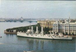 (101) Navy Warship - Bateau De Guerre - Russia Cruiser Aurora - Guerra